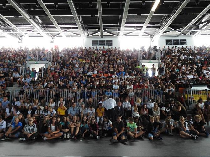 2016/2017-es tanévnyitó ünnepség a Don Bosco Sportközpontban