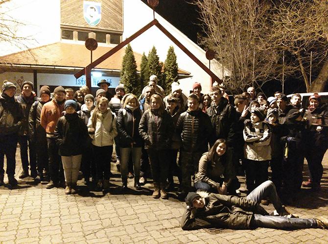 2017 / 2018 - Éjszakai zarándoklat Szalézi Szent Ferenc tiszteletére