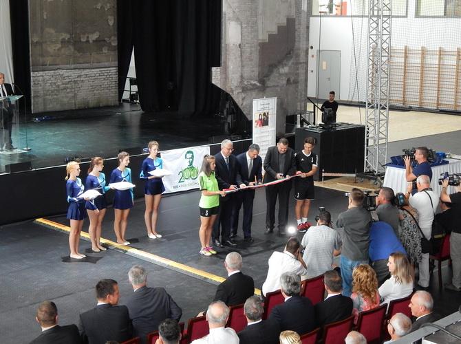 Don Bosco Sportközpont átadó ünnepség