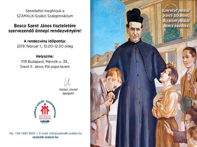Don Bosco ünnepség