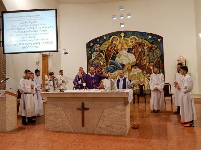 Nagyböjt indító szentmise