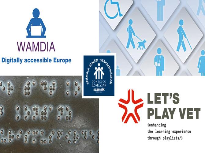 Szakmai konferencia a WAMDIA és a Let's Play VET projekt keretében