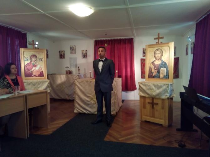 Szavalóverseny a Görögkatolikus Cigány Szakkollégiumban Miskolcon